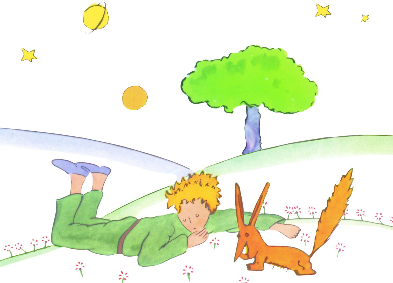 Disegno Volpe Piccolo Principe.L Amicizia A Spasso Con Apollo E Dioniso