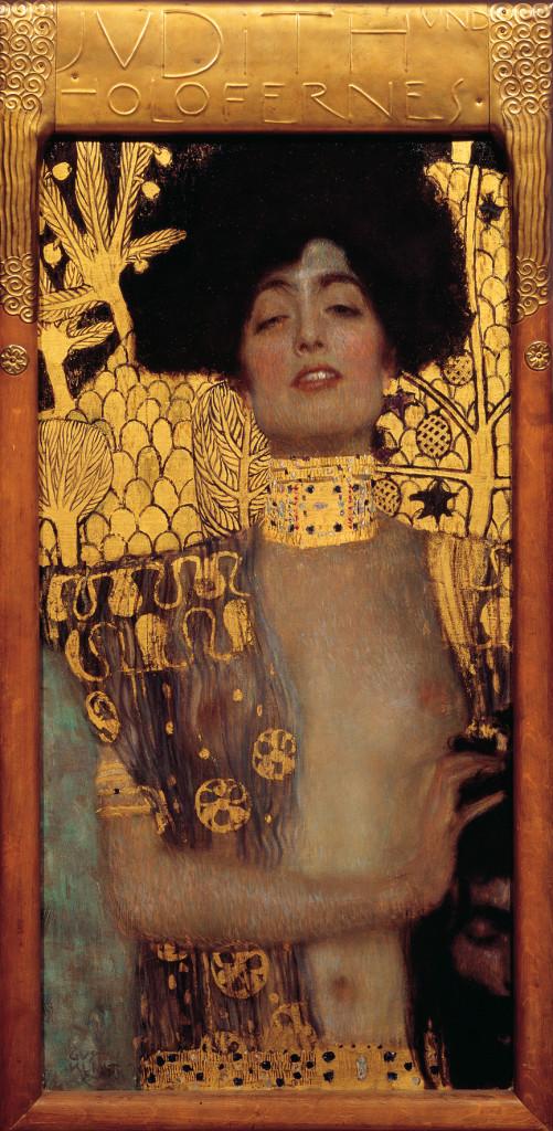 Gustav Klimt, Giuditta I, 1901, Österreichische Galerie Belvedere, Vienna