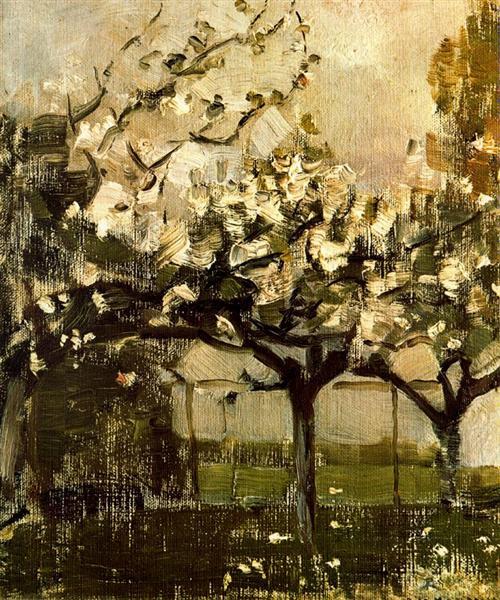 Mondrian, Alberi, 1908