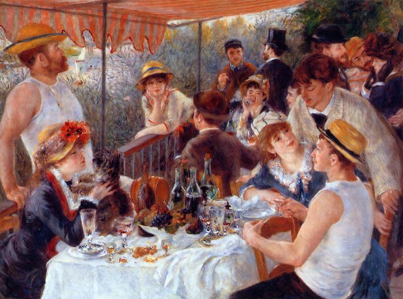 Renoir, Colazione dei canottieri, 1881