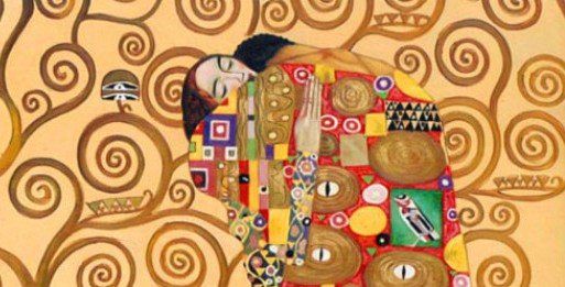 Abbraccio, Klimt