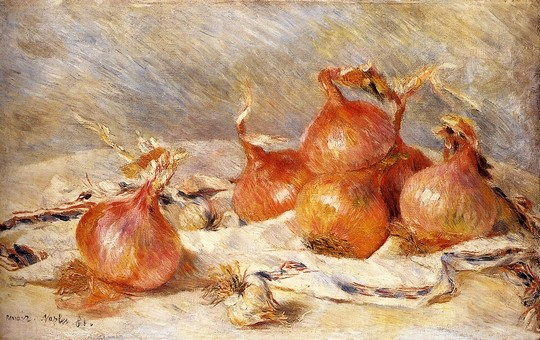 Renoir, Cipolle, 1881