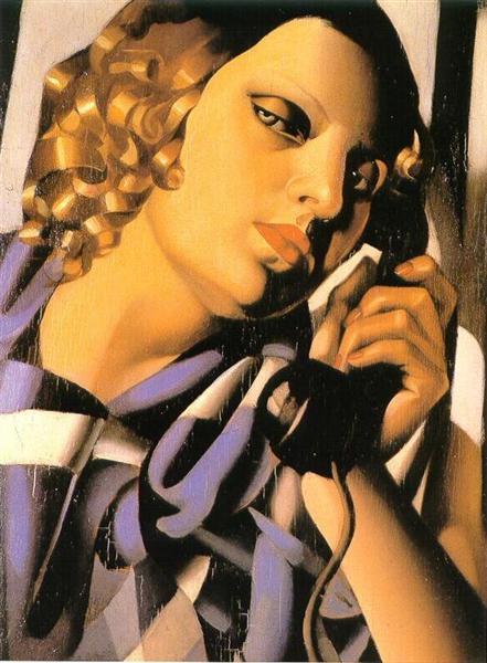Lempicka, telefone, 1930