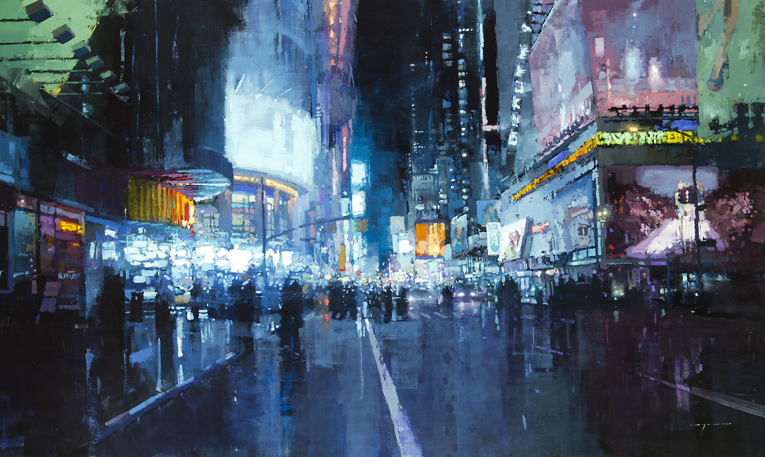 Jeremy Mann, Times Square Lights