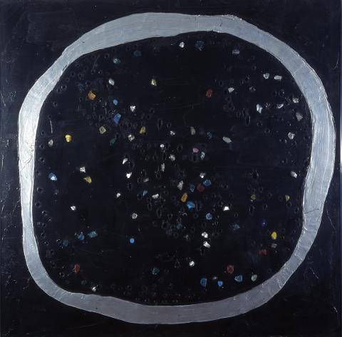 Lucio Fontana, Luna a Venezia, 1961.