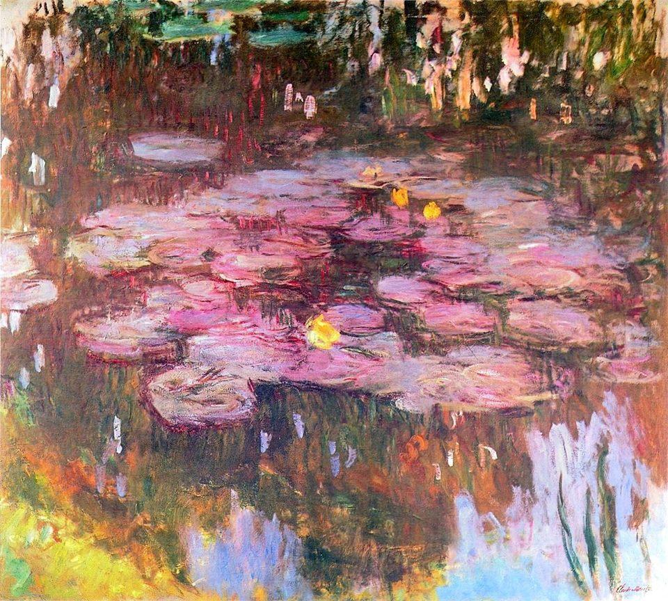 Monet, Ninfee, 1917, collezione privata.