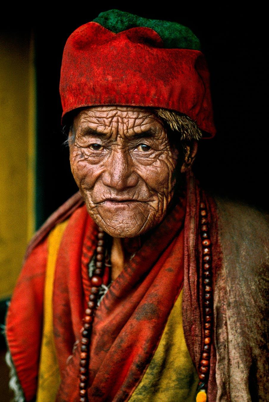 McCurry, Portrait, Tibet.