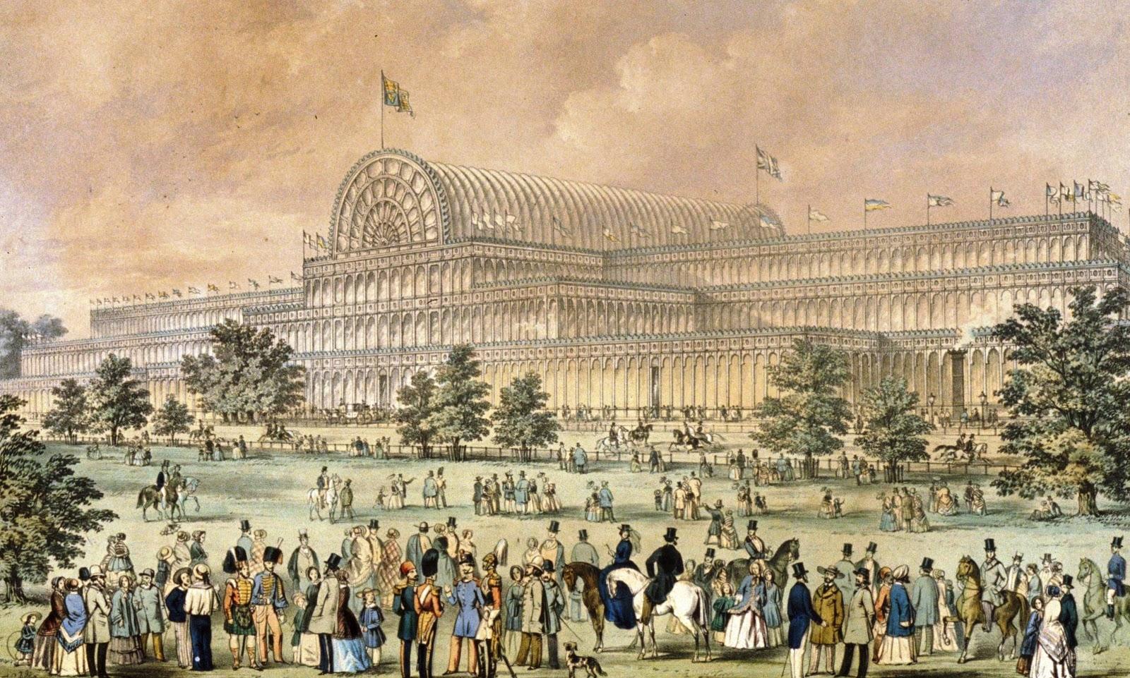 Joseph Paxton, Crystal Palace, 1851, Hyden Park, Londra.