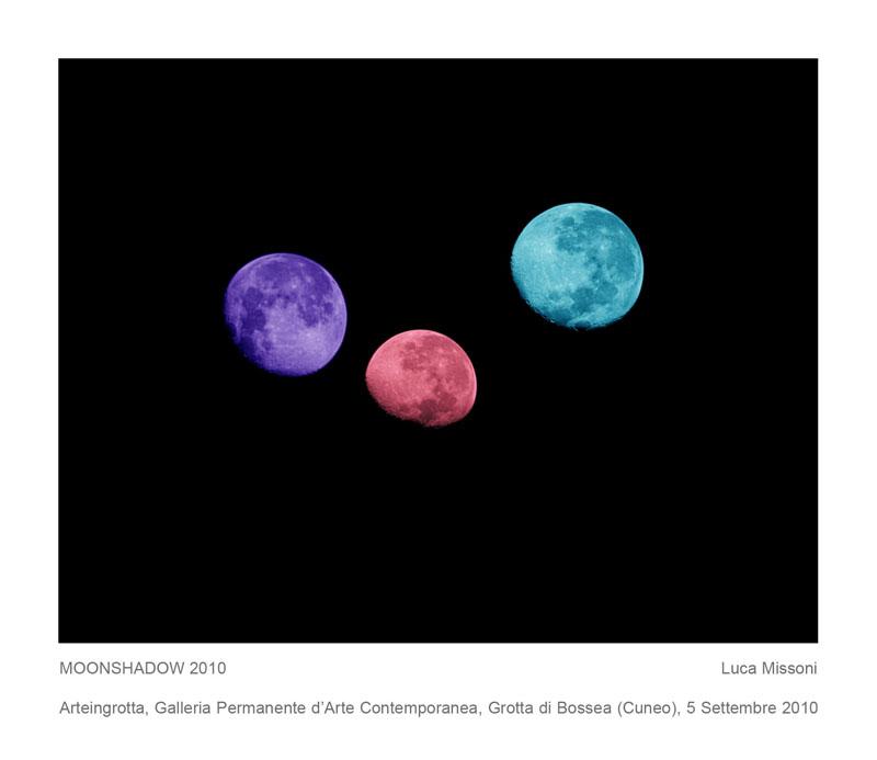 Luca Missoni, Moonshadow, 2010, Arteingrotta, Galleria Permanente d'Arte Contemporanea, Grotta di Bossea (CN)