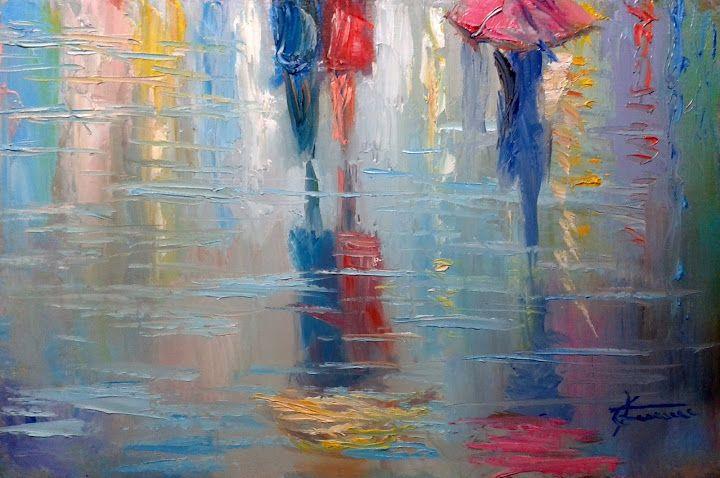 Giuseppe Faraone, Pioggia e riflessi