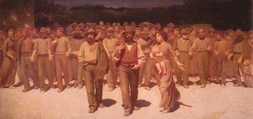 Pellizza da Volpedo, Il quarto stato, 1901