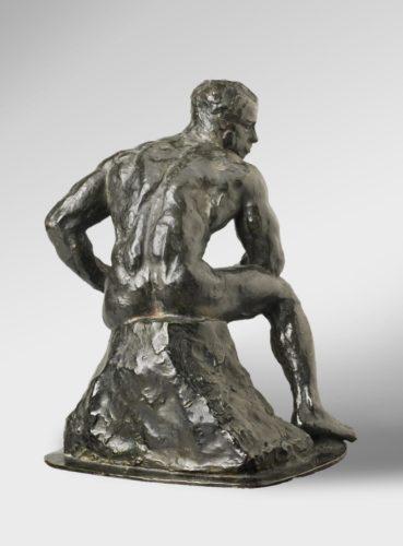 Rodin, L'atleta, 1901 Philadelphia Museum of Art, Collezione White, 1967