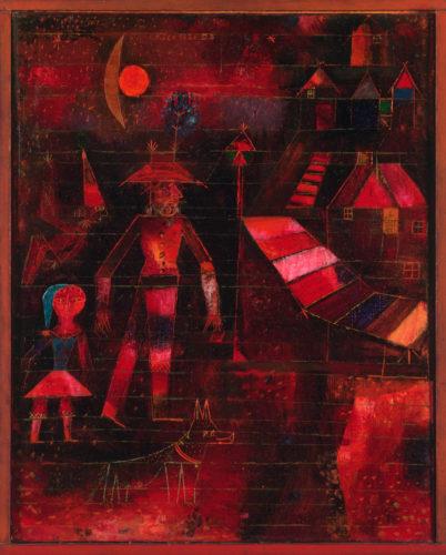 P. Klee, Carnevale al villaggio, 1926 Philadelphia Museum of Art, Collezione Arensberg, 1950