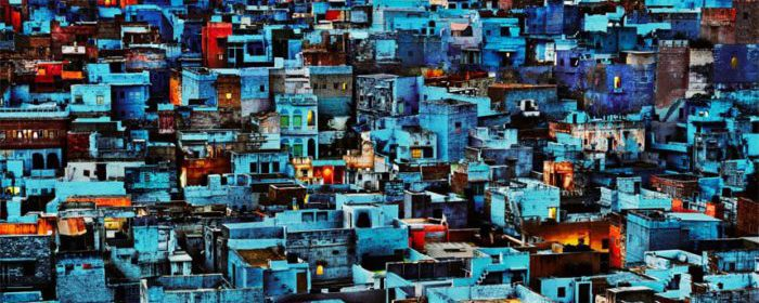 Seve McCurry, Blue City, India