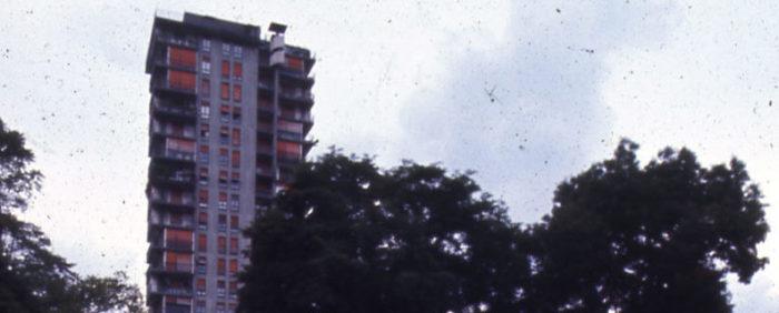 Paolo Monti, Serie fotografica: Milano, 1982 / Paolo Monti. Torre al Parco