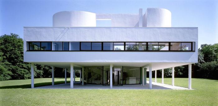 Villa Savoye, Le Corbusier Fonte: artribune.com