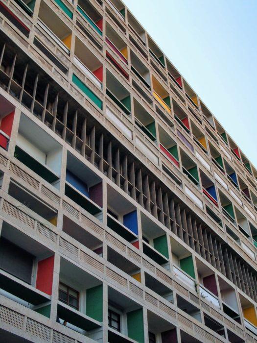 Unité d'habitation, Le Corbusier, 1947 - 52