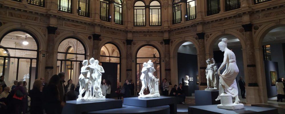 Canova e Thorvaldsen a Milano: sensualità scolpita nel marmo