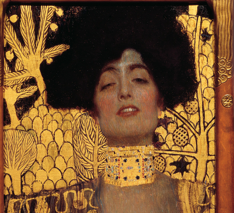 Gustav Klimt, Giuditta I (particolare), 1901, Österreichische Galerie Belvedere, Vienna.